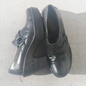 Born Black Platform Booties Size 9